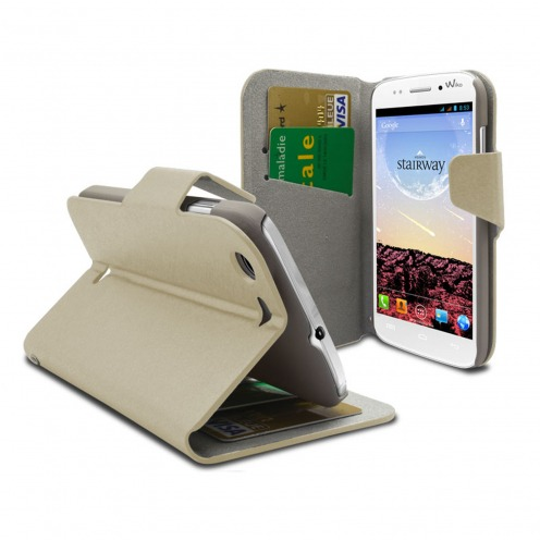 Smart Cover Wiko Stairway Papyrus Crème