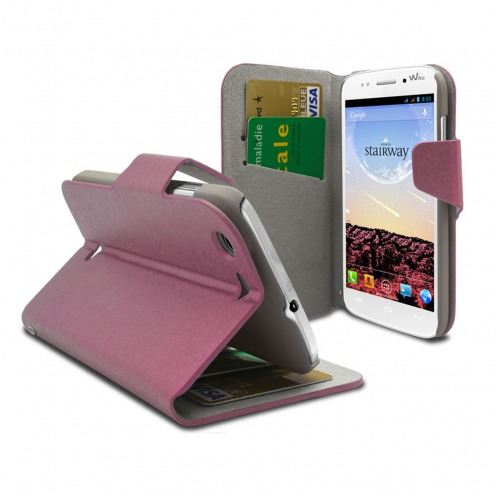 Smart Cover Wiko Stairway Papyrus Rose