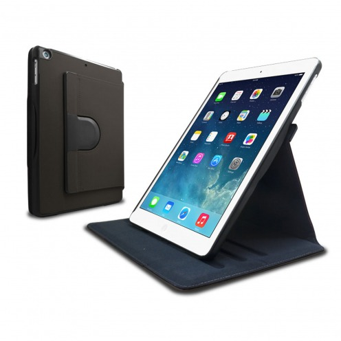 Coque iPad Air rotative 360° Club anthracite