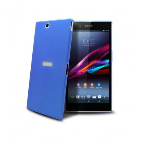 Coque Ultra Fine 0.3mm Frost XPERIA Z Ultra Bleue