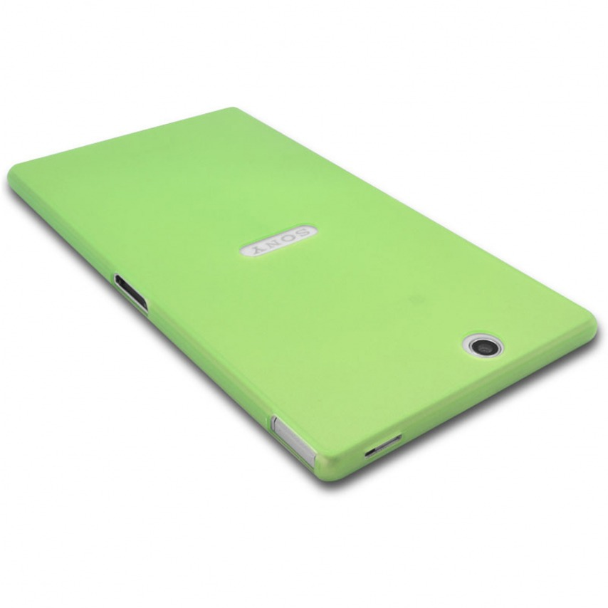 Photo réelle de Coque Ultra Fine 0.3mm Frost XPERIA Z Ultra Verte