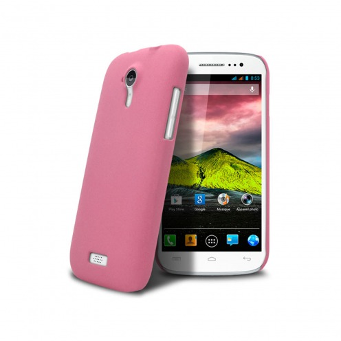 Sand Cover Case Wiko Cink Five Pink