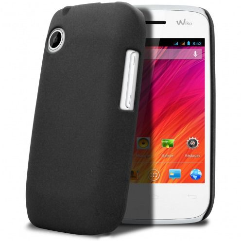Coque Wiko Ozzy Sand Noire