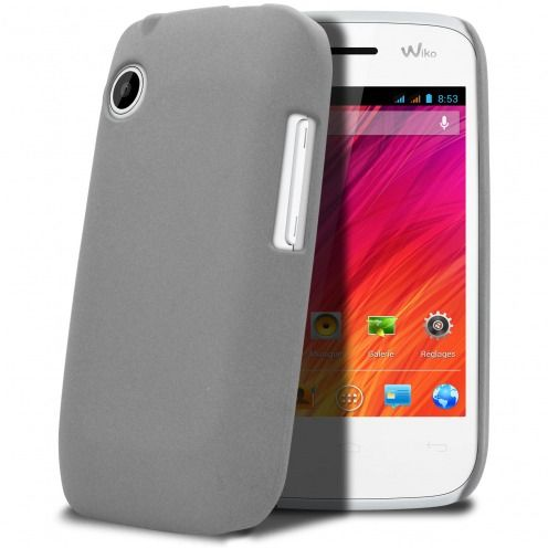 Coque Wiko Ozzy Sand Grise