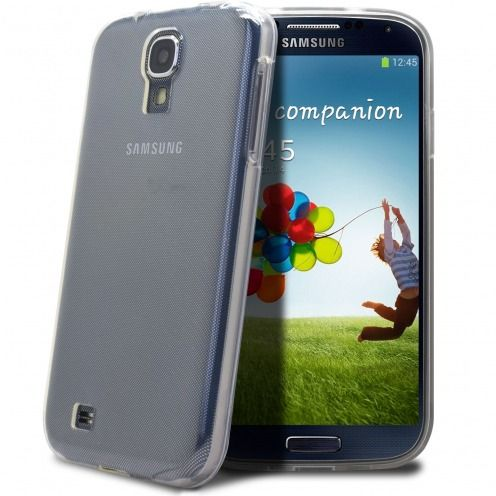 """""""Crystal Clear"""" flexible case for Samsung Galaxy S4"""