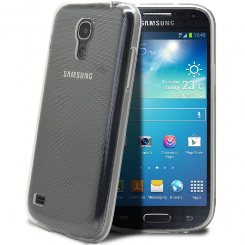 "Coque Souple ""Crystal Clear"" pour Samsung Galaxy S4 Mini"