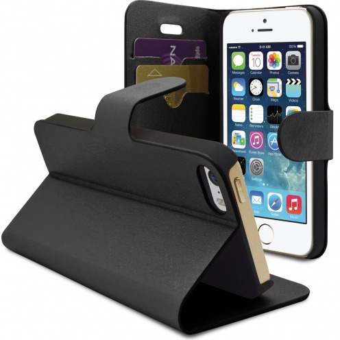 Smart Cover iPhone 5/5S/SE Papyrus Noire