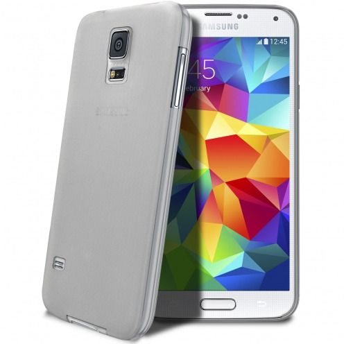 Coque Ultra Fine 0.3mm Frost Samsung Galaxy S5 Transparente