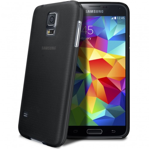 Coque Ultra Fine 0.3mm Frost Samsung Galaxy S5 noire