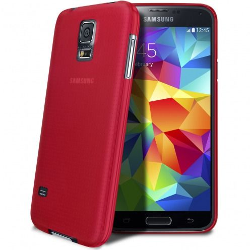 Coque Ultra Fine 0.3mm Frost Samsung Galaxy S5 Fuchsia