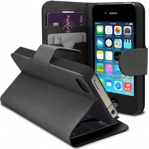 Smart Cover iPhone 4/4S Papyrus Negro