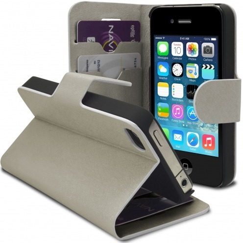 Smart Cover iPhone 4/4S Papyrus Plateado