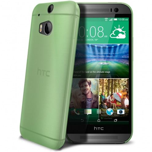 Coque Ultra Fine 0.3mm Frost HTC One M8 Verte