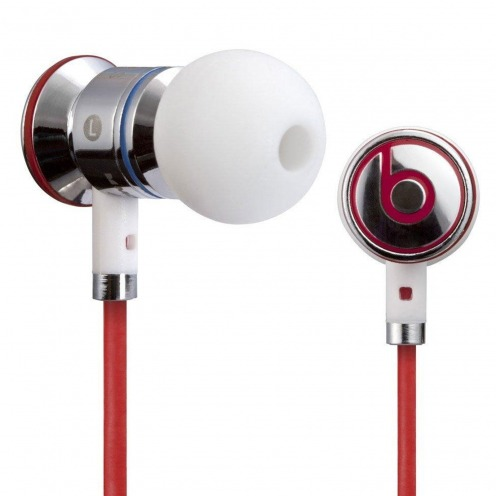 Ecouteurs / Kit Piéton In Ear Beats Audio® ibeats By Dre Blanc/Argent/Rouge