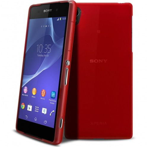 Coque XPERIA Z2® Frozen Ice Extra Fine Rouge