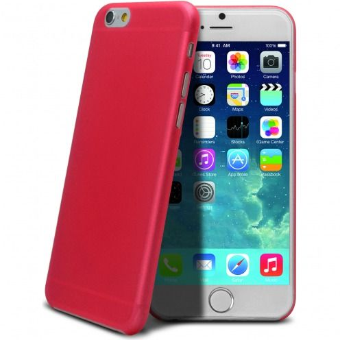 Coque Ultra Fine 0.3mm Frost iPhone 6 Plus Fuchsia