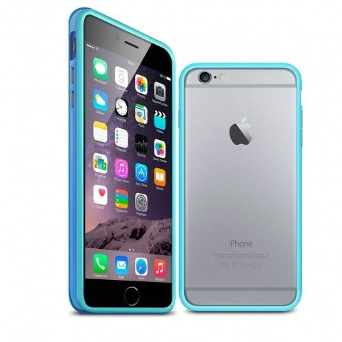 Coque Bumper iPhone 6 Plus HQ Bleue