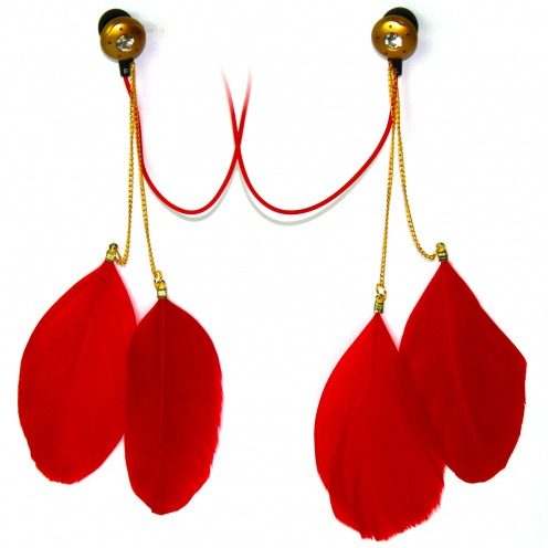 Ecouteurs In Ear Satzuma Sound® Paloma Feather Rouge