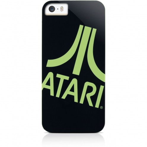 Coque iPhone 5 / 5S / SE Gear4® Collector ATARI Noir Vert