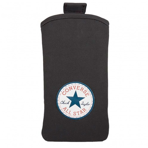 Converse All Star® Suede Pouch for iPhone 5/5S/SE Dark Grey - Size XL