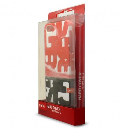 Coque Extra Fine iPhone 5/5S/SE Golla® Collection Steve Rouge