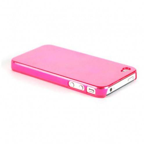 "Coque ""Crystal"" iPhone 4S / 4 Rose"