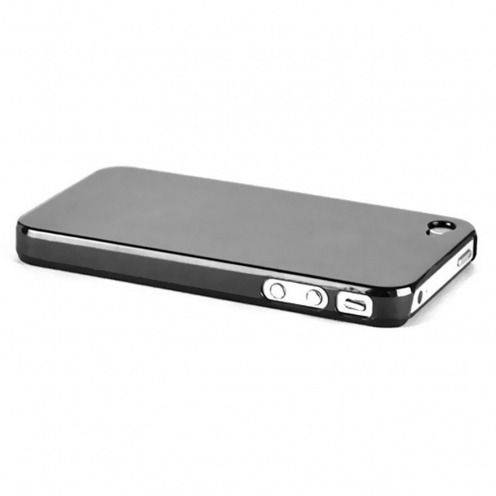"""Coque """"Crystal"""" iPhone 4S / 4 Noire"""