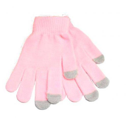 iTouch - Gants tactiles spécial iPhone Rose Taille S