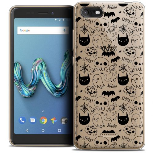 "Coque Crystal Gel Wiko Tommy 3 (5.45"") Extra Fine Halloween - Spooky"