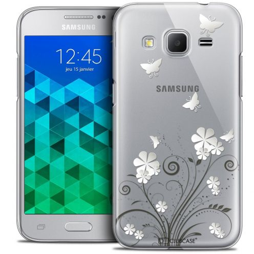 Coque Crystal Samsung Galaxy Core Prime (G360) Extra Fine Summer - Papillons