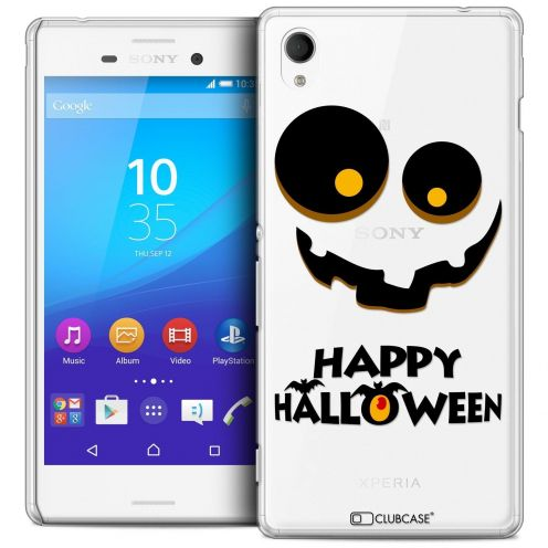 Extra Slim Crystal Sony Xperia M4 Aqua Case Halloween Happy