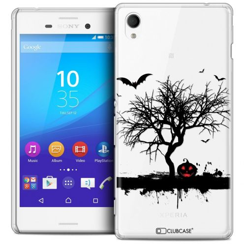 Extra Slim Crystal Sony Xperia M4 Aqua Case Halloween Devil's Tree