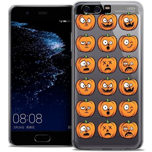 Coque Crystal Gel Huawei P10 Extra Fine Halloween - Cartoon Citrouille