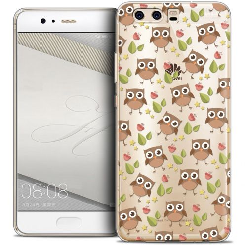 Coque Crystal Gel Huawei P10 Extra Fine Summer - Hibou