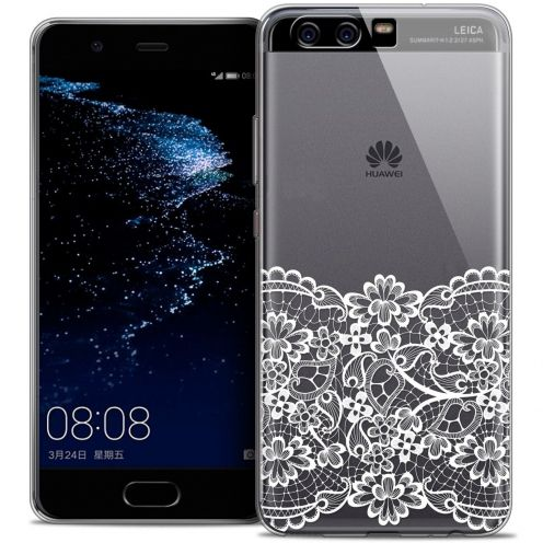 Coque Crystal Gel Huawei P10 Extra Fine Spring - Bas dentelle