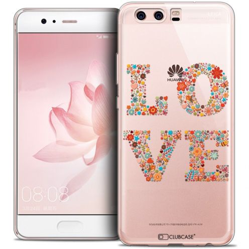 Coque Crystal Gel Huawei P10 Extra Fine Summer - Love Flowers