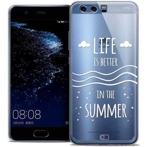Coque Crystal Gel Huawei P10 Extra Fine Summer - Life's Better